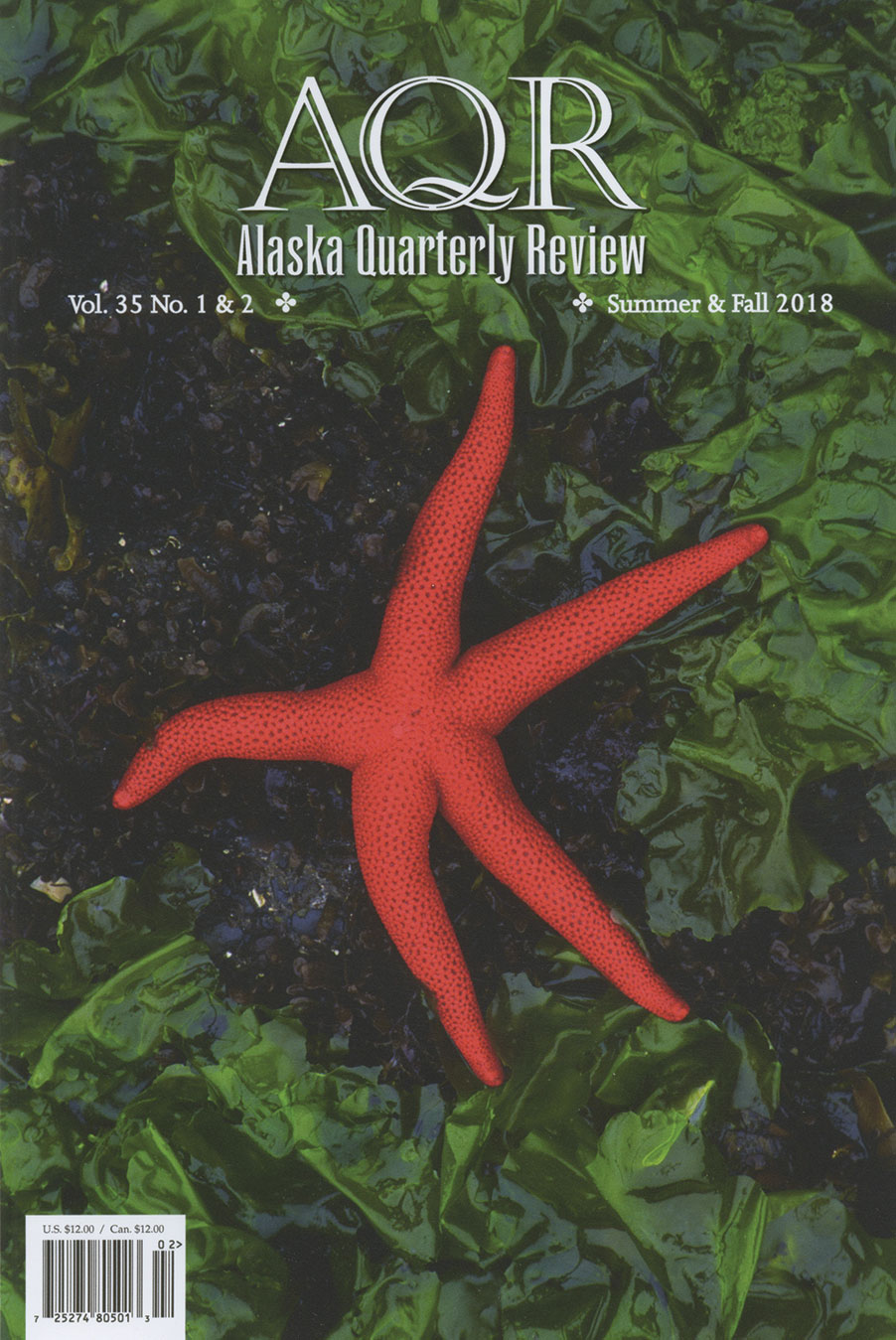 Alaska Quarterly Review, Volume 35