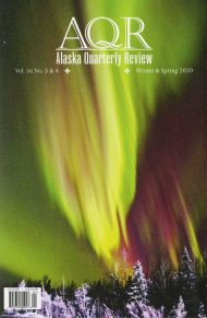 Alaska Quarterly Review Issue 36 3/4